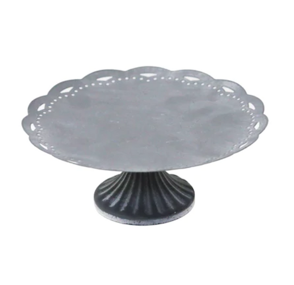 Galvanized Scallop Table Pedestal