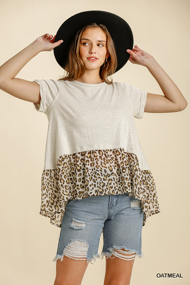 The Wilds Top in Oatmeal