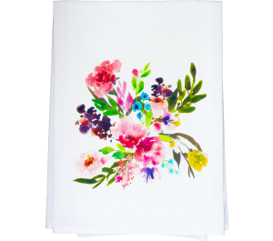 Floral Bouquet Tea Towel