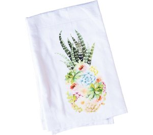 Succulent Pineapple Tea Towel