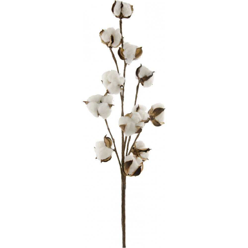 "16"" 9 Pod Cotton Stem"