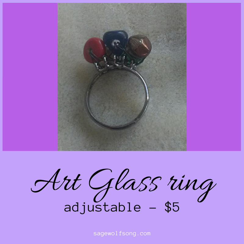 Art Glass Ring - Featured Product