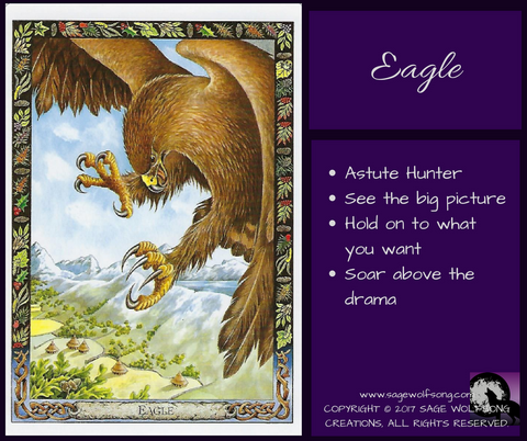 sage wolfsong weekly oracle eagle blog graphic