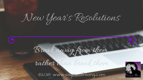 new years resolutions blog title