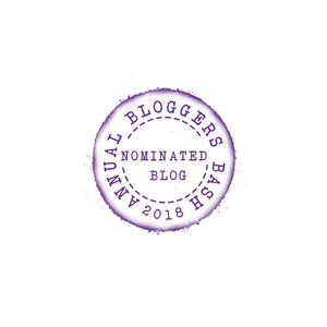 Nominated for 2018 Bloggers Bash Award for Most Inspiring Blog