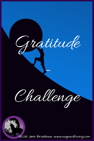 40 Days of Gratitude series blog post - Gratitude for Challenges that strengthen us and teach us important lessons about resilience and gratitude.
