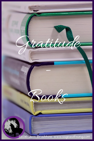 40 Days of Gratitude continues with a blog post about the book I'm most grateful for.