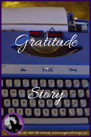 In this 40 Days of Gratitude blog post, a deeply personal story about marriage, forgiveness, and mental illness.
