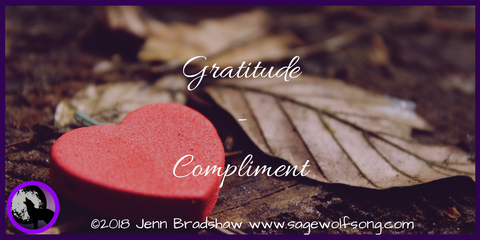 The 40 Days of Gratitude with Disability series continues with a post about a recent compliment that blew me away and spurred action.