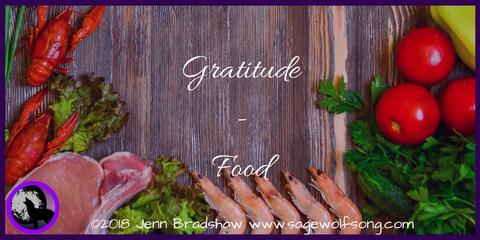 Jenn explores the gratitude of food in this blog post - part of the 40 days of gratitude blog series