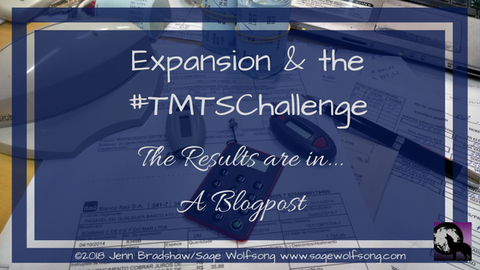 #TMTSChallenge results blog
