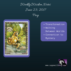 weekly wisdom 6-23-17 frog oracle