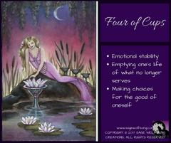 weekly wisdom graphic four of cups