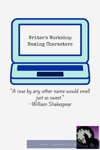 sage wolfsong blog graphic writers workshop naming characters