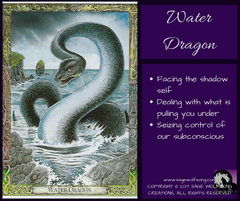 sage wolfsong weekly wisdom water dragon oracle