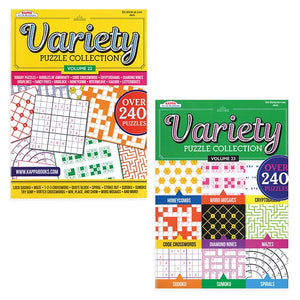 VARIETY PUZZLE COLLECTIOIN
