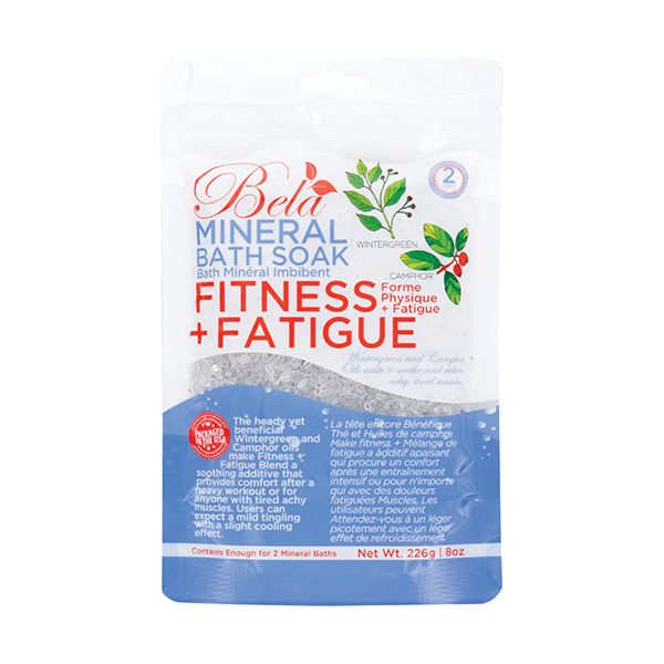BELA MINERAL BATH SOAK-FITNESS & FATIGUE