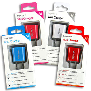 USB Wall Chargers (Multiple Colors Available!)