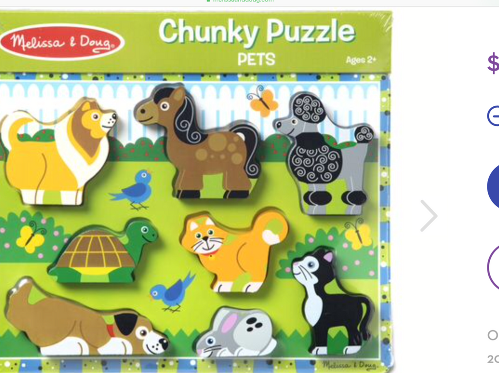 Chunky Puzzle Pets