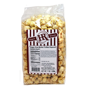 Sugar Free Butter Toffee Popcorn