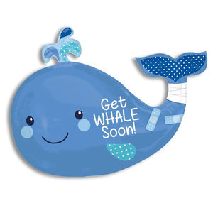 GET WHALE SOON ( X-LARGE BALLOON)