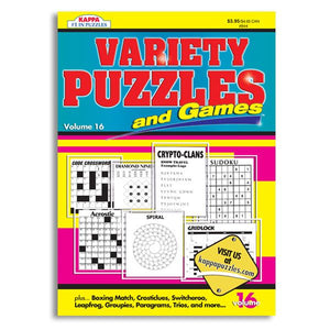 Variety Puzzles and Game Book