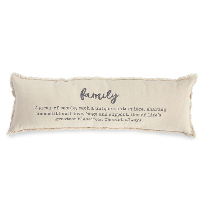 Definition Pillow (washed canvas)