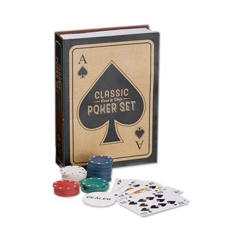 Classic Card &Chip Poker Set