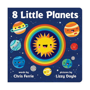 "8 Little Planets 8"" Board Book"