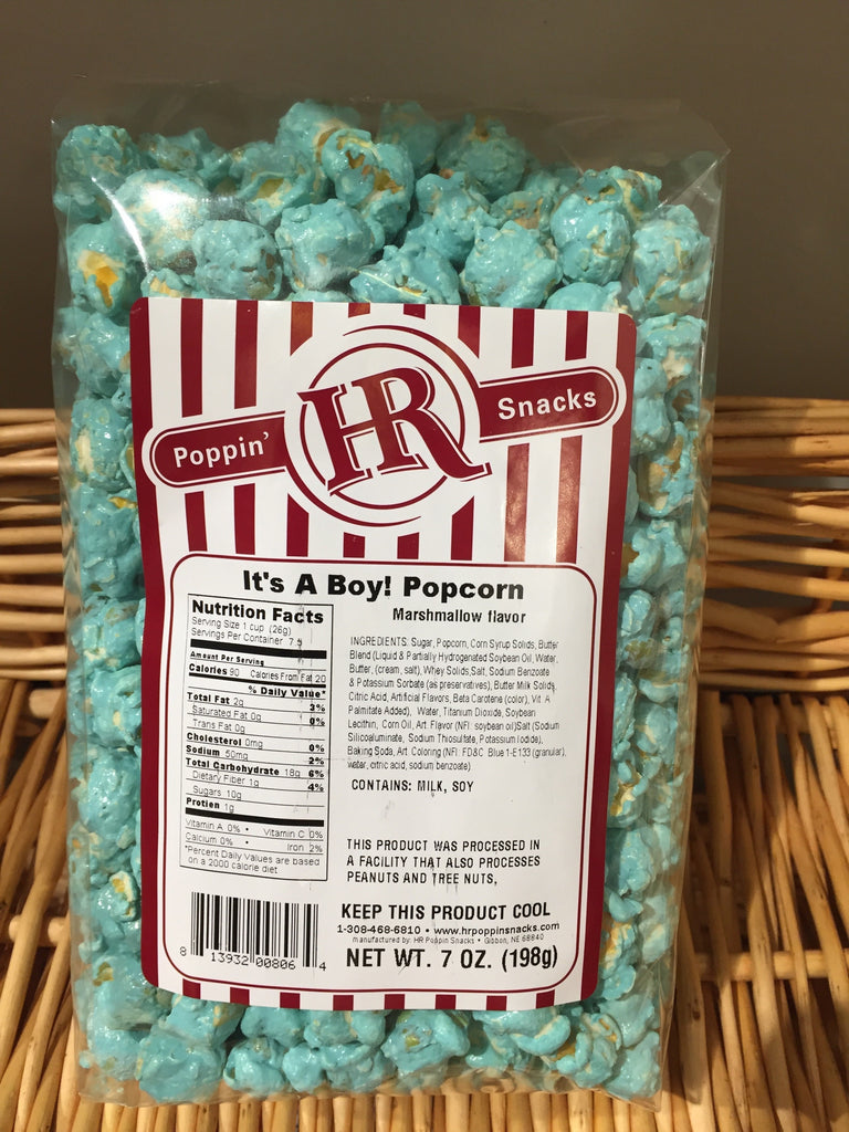 It's A Boy Popcorn - Blue Marshmallow 7oz.