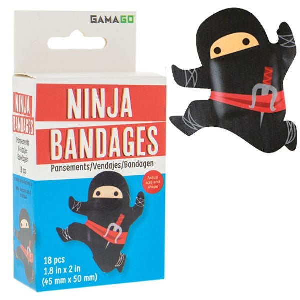 "Bandages,18ct Box ""Ninja"""