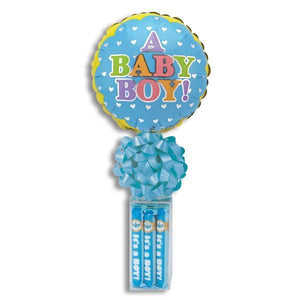 Baby Boy Bubble Gum(with balloon)