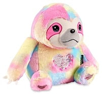 Sloth (Rainbow Sequin Heart Plush -(RainbowFurry)