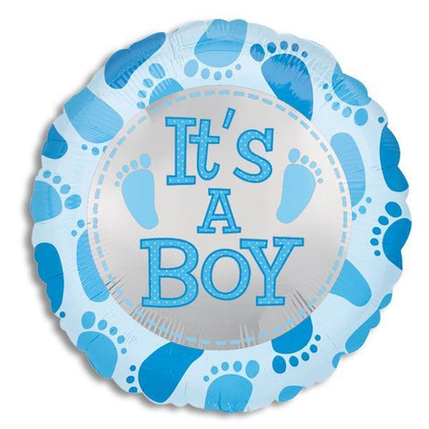 Baby Boy Cute Feet Balloon