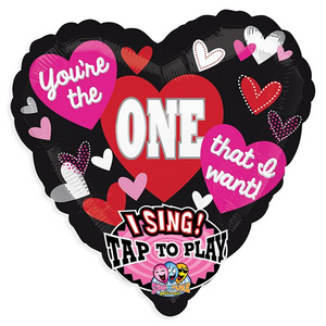 "Sing a Tune Balloon- ""You're the One that I want"""