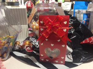 Lindt Valentine candy box
