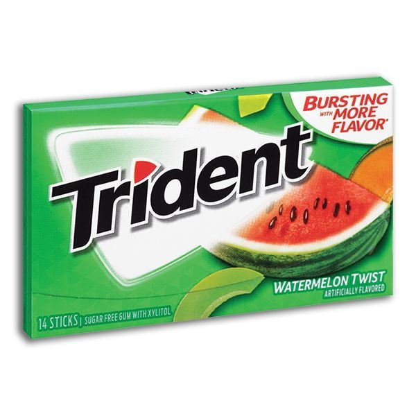 Trident (sugar free) WATERMELON TWIST