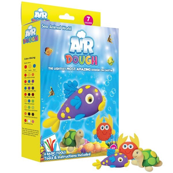 AIR DOUGH ACTIVITY KIT-(Sea Animal World)