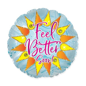 "Balloon ""FEEL BETTER""(SPARKLE SUNSHINE BALLOON"