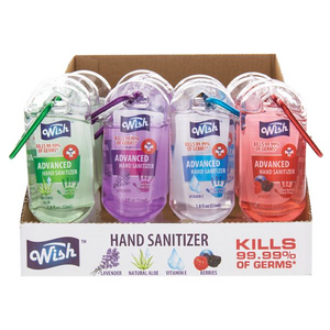 WISH CARABINER Hand SANITIZER