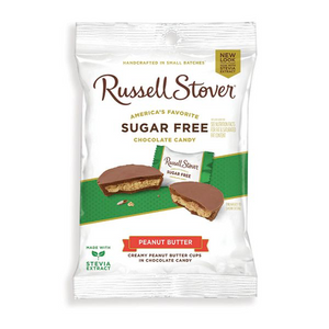 Russell Stover's SUGAR FREE \Peanut Butter cups