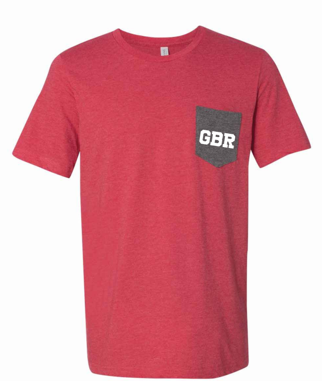 GBR Front Pocket Tee Nebraska