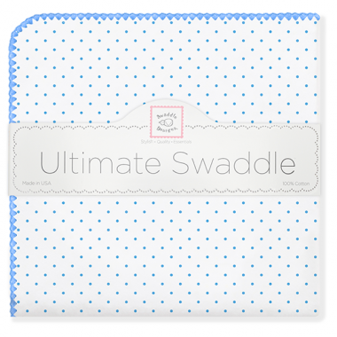 Ultimate Swaddle Classic Polka Dots (Multiple Colors Available!)