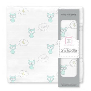 Muslin Swaddle Blanket Single (Multiple Prints Available!)