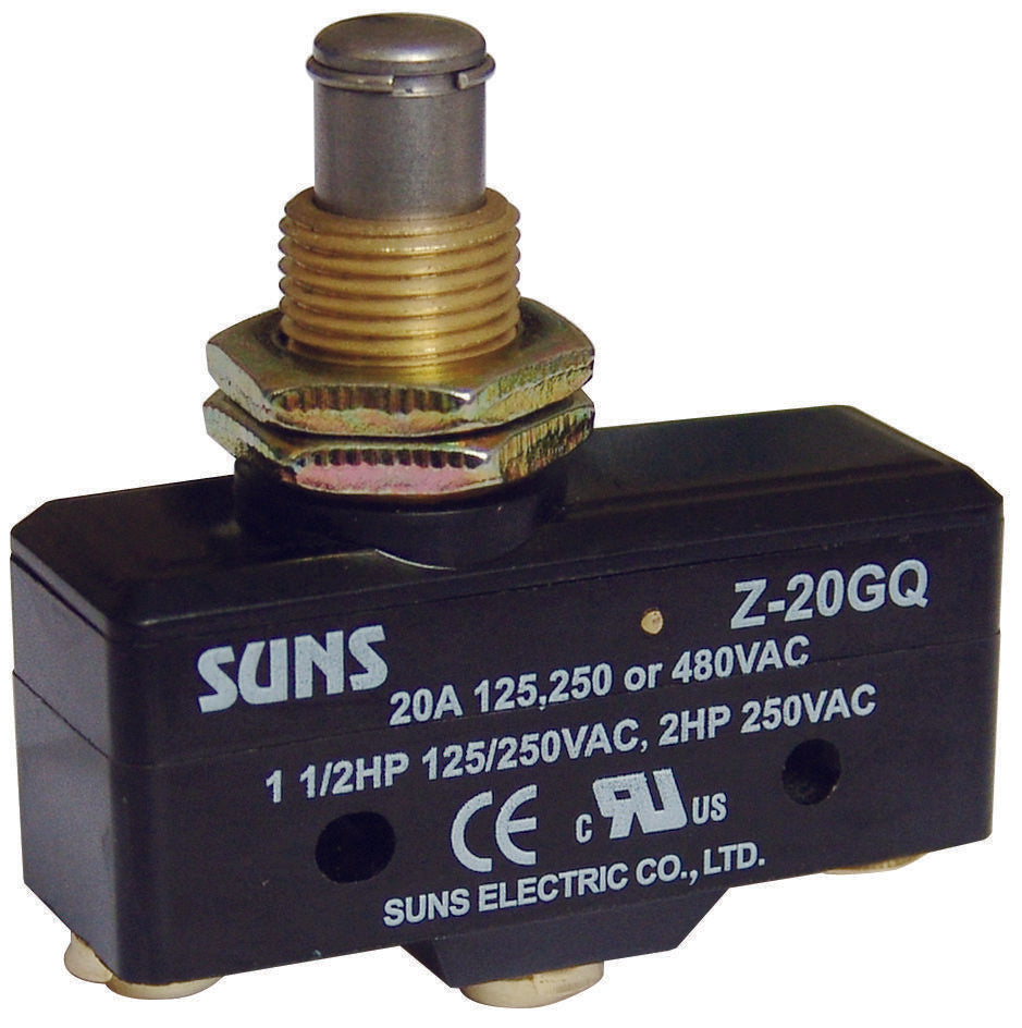 SUNS Z-20GD Plunger 20A Micro Switch