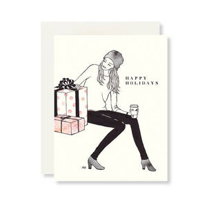 HAPPY HOLIDAYS CARD - California Couture Boutique