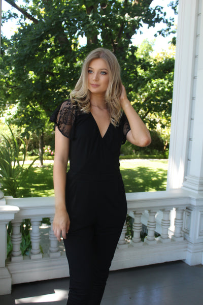EXECUTIVE JUMPSUIT - California Couture Boutique