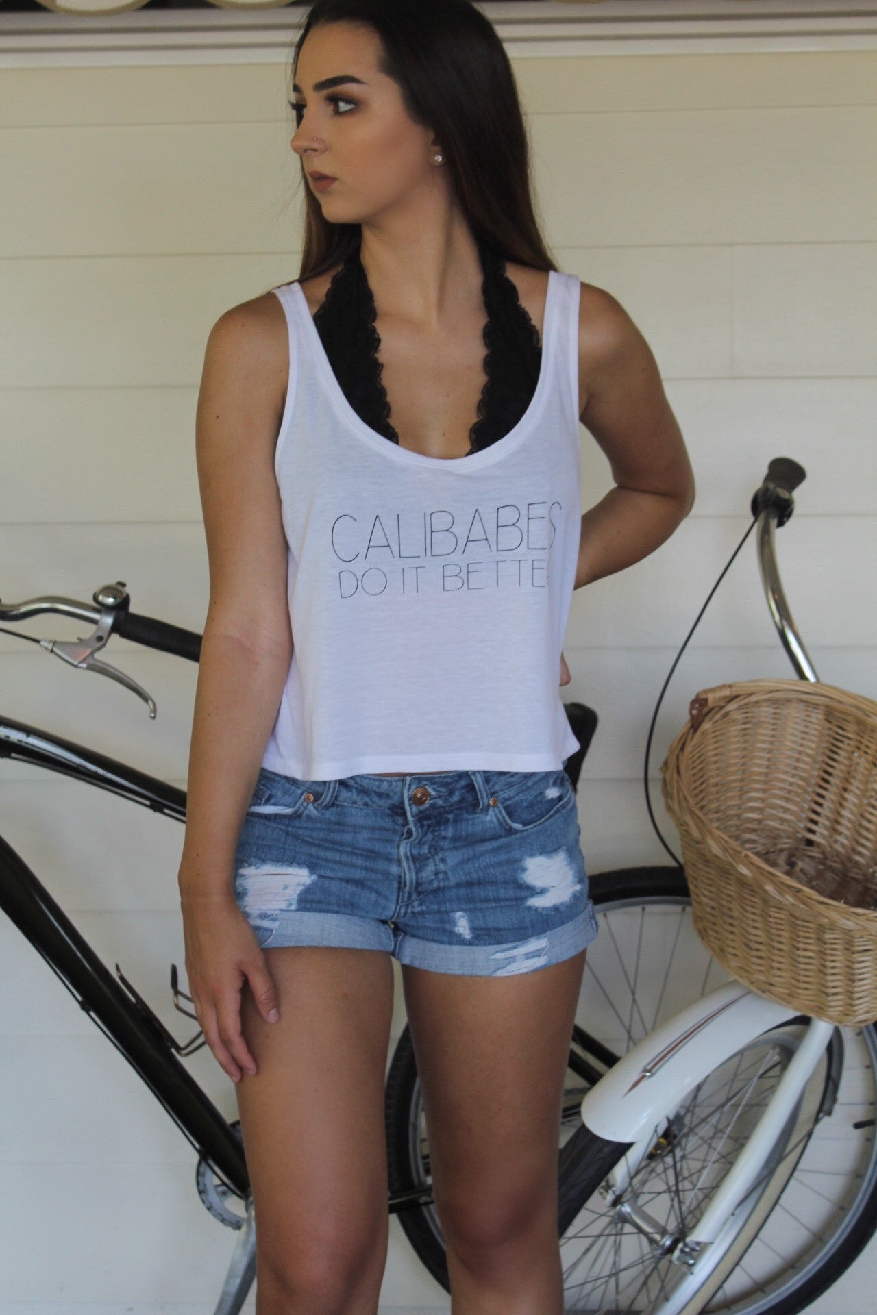 CALIBABE TANK - California Couture Boutique