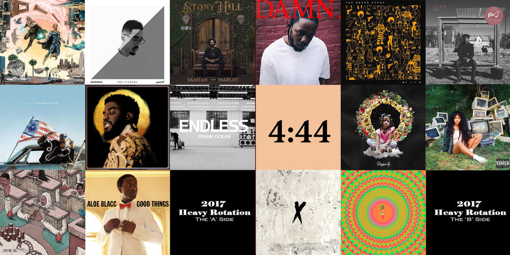 My Most Listened to Albums of 2017