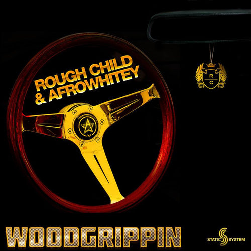 Cover AfroWhitey & Rough Child Woodgrippin' Single